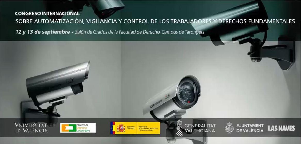 (2019-09-12) Congreso sobre Automatización, Videovigilancia y Control de los trabajadores