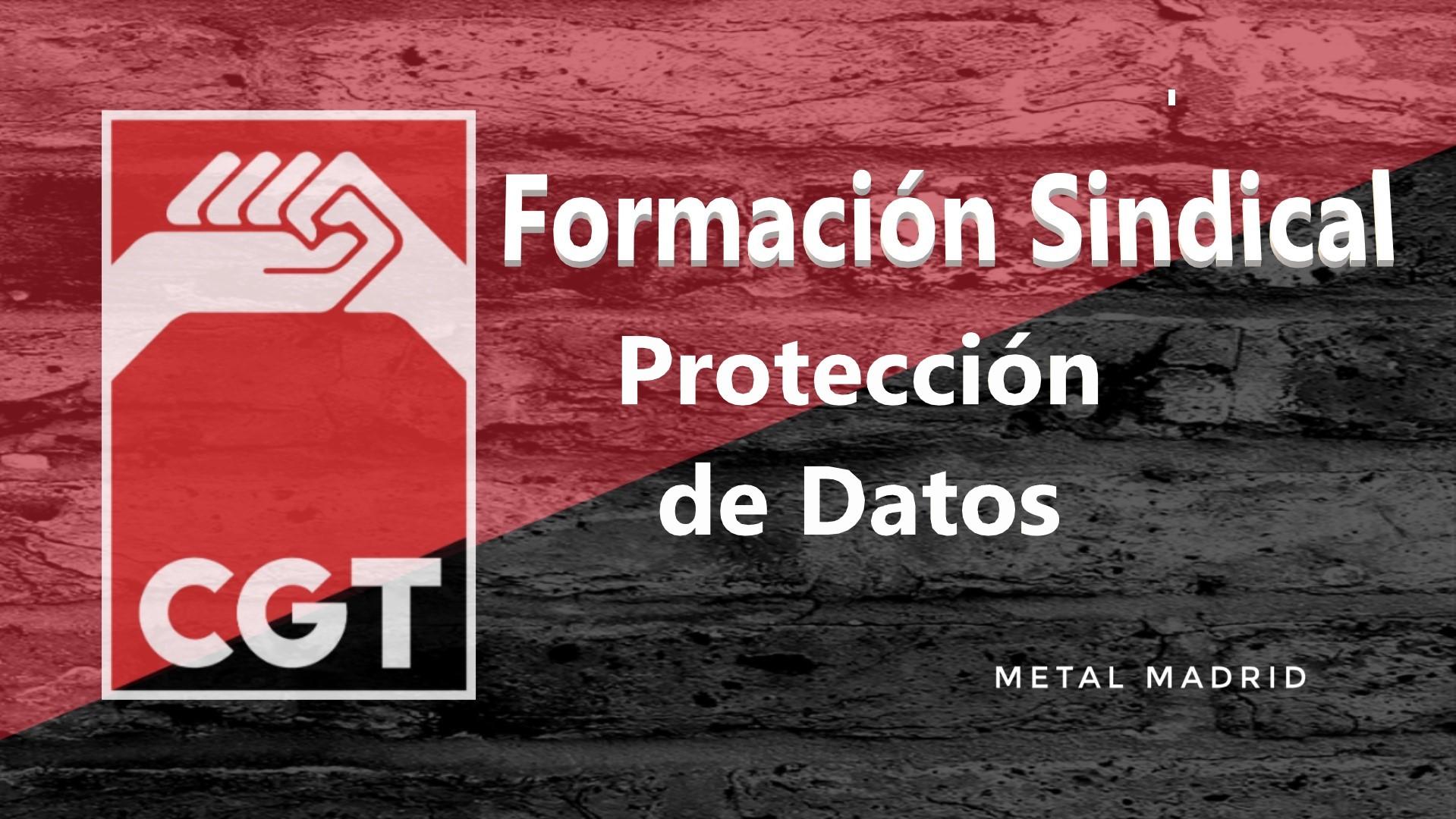 Formación: Protección de datos