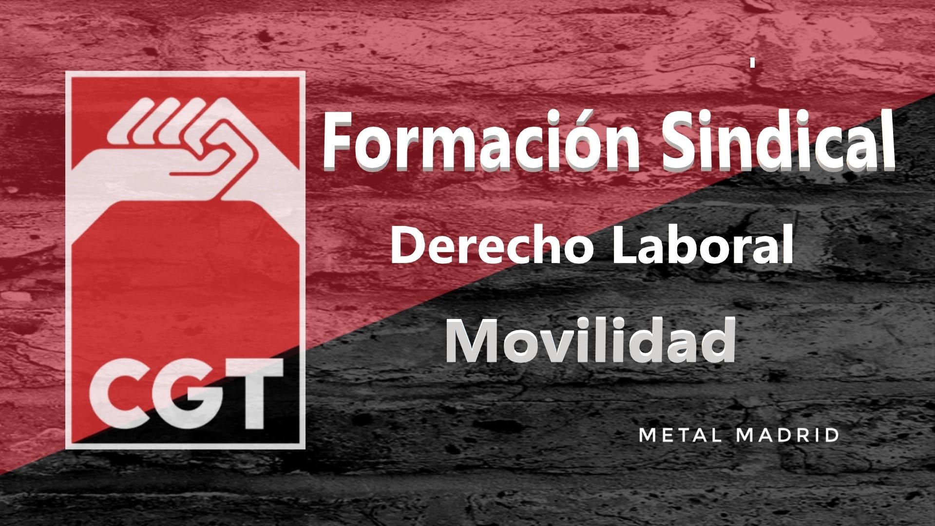 Formación: Derecho laboral: Movilidad