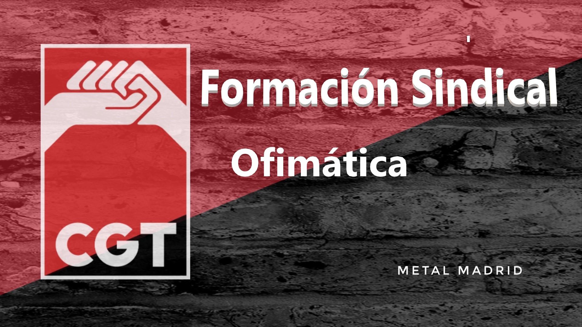 Formación: Ofimática